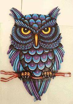 Imagem de art, owls, and corujas