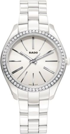Rado Watch Hyperchrome M #bezel-diamond #bracelet-strap-ceramic #brand-rado #case-material-ceramic #case-width-36mm #delivery-timescale-call-us #dial-colour-white #gender-ladies #luxury #movement-quartz-battery #official-stockist-for-rado-watches #packaging-rado-watch-packaging #style-dress #subcat-hyperchrome #supplier-model-no-r32311012 #warranty-rado-official-2-year-guarantee #water-resistant-50m