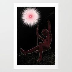trapezista Art Print by Francesco Mestria - $12.48