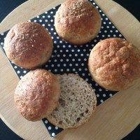 Pãozinho Low Carb sem glúten e sem lactose