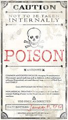 Collection of potion labels. #halloween, #madscientist, #apothecary