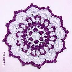 Ravelry: Gzhel Mandala pattern by Svetlana Crochetoff