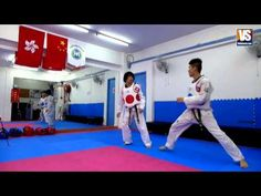 【Taekwondo】Combo Kicks, Turning Kicks, Single Kicks (Additional) - YouTube