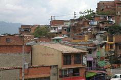 Favelas in Medellin, Colombia