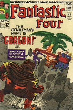 COMIC fantastic four 46 #comic #cover #art