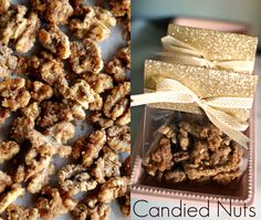 Candied Nut...this recipe did walnuts and I've done it with pecans also and it's sooooooooo good!