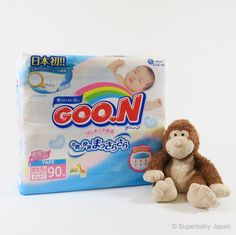 Superbaby Japan - GOO.N nappies - Newborn - 90 pieces (single pack)