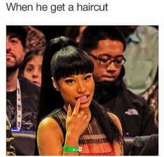 When bae get that clean cut? Relationship Goals Pictures, Cute Relationships, Relationship Quotes, Mood Quotes, Girl Quotes, Bae Quotes, Girl Memes, Qoutes, Funny Relatable Memes