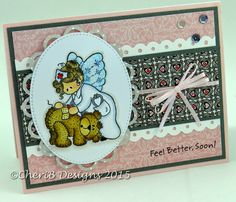 Get well card by CheriB Designs