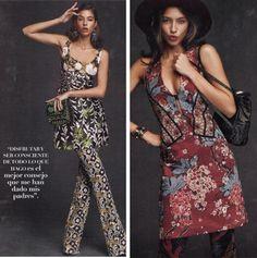 Hola Fashion Magazine showing us  just how to do it   Mini Giovanna and Mini Capri from the Maleficent Collection   #YYMiniGiovanna #YYMiniCapri #YYMaleficent #YYPress