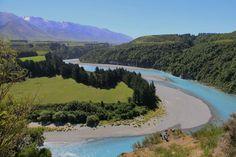 Rakaia Gorge, New Zealand. New Zealand, Bucket, River, Outdoor, Outdoors, Outdoor Games, The Great Outdoors, Buckets, Aquarius