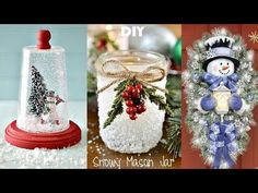 I hope you enjoy my DIY Holiday Room Decor video and Easy DIY Christmas Decorations! Diy And Crafts Sewing, Crafts To Sell, Easy Crafts, Crafts For Kids, Easy Diy, Christmas Decorations For The Home, Christmas Crafts, Christmas Glitter, Halloween Crafts
