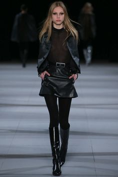 Saint Laurent Fall 2014 Ready-to-Wear Collection Slideshow on Style.com #style #donneVincenti