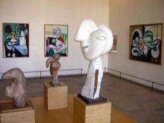 In the heart of the Marais district sits the Musee Picasso. A small museum by Paris standards and well worth the visit.