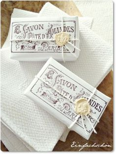 .Savon soap...great packaging...great soap