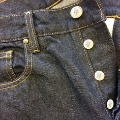 The great debate, do you prefer to stick to denim's original roots with a button fly or do you prefer the modern ease of the zipper fly?
