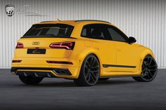 The German tuner made only cosmetic changes to Audi's sporty crossover. Wide Body Kits, Online Cars, Drifting Cars, Red Bull Racing, Audi Q7, Jeep Gladiator, Custom Wheels, Twin Turbo, Mercedes Amg