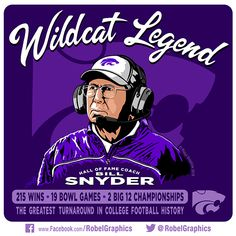 """As a life-long K-State Fan, growing up right in Manhattan, Kansas, and being old enough to have seen the bleak days before """"The Greatest Turnaround in. Kansas Usa, Kansas State University, Kansas State Wildcats, Man Cave Room, Bowl Game, Alma Mater, College Football, Comebacks, Growing Up"""