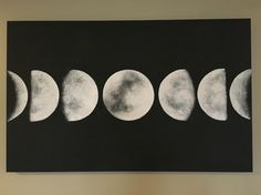 Moon Phase Painting