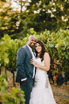 Bride and Groom in Napa Valley | Mirelle Carmichael Photography | TheKnot.com