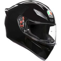 is the AGV sport helmet for everyday riding challenges. Born from the AGV racing technology, ready for every road experience. The aerodynamic shape, racing-developed front air vents and wind-tunnel-tested spoiler maximiz Full Face Motorcycle Helmets, Full Face Helmets, Motorcycle Gear, Agv Helmets, Helmet Brands, Wind Tunnel, Sports Helmet, K 1, Sport Bikes