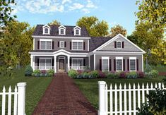 House Plan 92367 | Traditional Plan with 2234 Sq. Ft., 4 Bedrooms, 3 Bathrooms, 3 Car Garage at family home plans