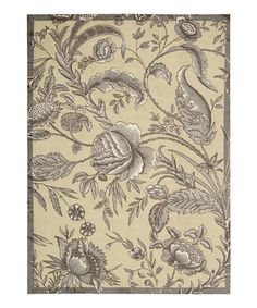 Another great find on #zulily! Iron Artisanal Delight Rug #zulilyfinds