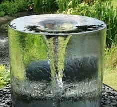 Give your outdoor patio a wow-factor that'll drop everyone's jaw to the ground with this vortex water fountain. This physics-defying work of art will easily become the centerpiece in any garden, yard, terrace, or backyard environment. Landscaping Around Trees, Landscaping With Rocks, Front Yard Landscaping, Privacy Landscaping, Landscaping Ideas, Backyard Ideas, Garden Ideas, Easy Garden, Garden Art