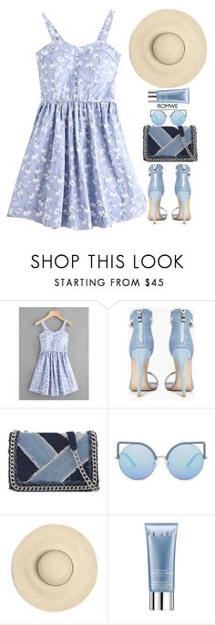 """Sweet sunny day"" by gabygirafe ❤ liked on Polyvore featuring Boohoo, ALDO, Matthew Williamson, Orlane, GetTheLook and romwe"