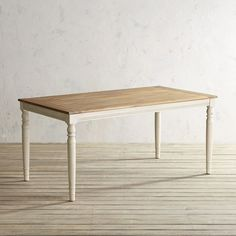 Pier 1 Imports Holcomb Stone Turned Leg Dining Table
