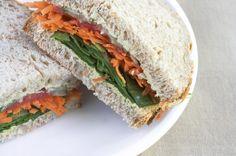 GFCF Veggie Sandwich w/ Udi's Whole Grain Bread | Udi's® Gluten Free Bread