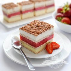 Goat Cheese Cake with Hazelnut, Easy and Cheap - Clean Eating Snacks Sweet Recipes, Cake Recipes, Dessert Recipes, Cheap Clean Eating, Clean Eating Snacks, Salty Cake, Polish Recipes, Eclairs, Savoury Cake