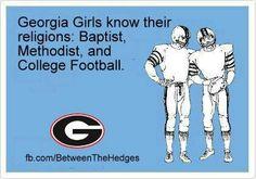 Georgia Bulldog football is a religious experience