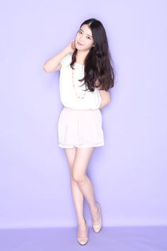 IU // neutrals for floaty, fairy look