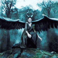 """""""My wings were so big they dragged behind me on the ground as I walked..."""" Maléficent"""" movie quote."""