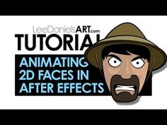 Tutorial | After Effects | Animating 2D Cartoon Faces - YouTube