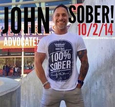 @Jwr4 (IG) John takes his 100% sober tee everywhere he goes and he travels a lot of places... must mean that he is truly livin' about that 100% sober life NO MATTER WHERE OR WHY OR WHAT! Right? Right! Cuz John kicks @$$ in recovery and I couldn't be prouder of someone wearing one of my favorite designs ever! Go get em John got tons of love for you brother! xo   For a 100% Sober tee click the link in our bio to redirect to our site to get yours now! SubstanceForYou.com   #recoveryispossible…