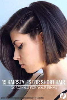 There are many fun and elegant styles that will look amazing on short hair at prom night. We've collected the 27 best photos of amazing hairstyles with accessories, big and little waves, messy and curles, braids and crowns. ★ See more: http://glaminati.com/gorgeous-prom-hairstyles-for-short-hair-love/?utm_source=Pinterest&utm_medium=Social&utm_campaign=FI-gorgeous-prom-hairstyles-for-short-hair-love-12