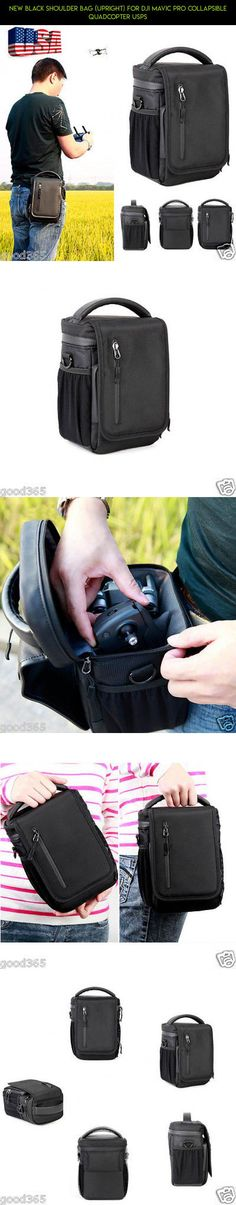 New Black Shoulder Bag (Upright) for DJI Mavic Pro Collapsible Quadcopter USPS #tech #drone #fpv #camera #products #technology #plans #kit #gadgets #mavic #pro #bag #parts #shopping #racing