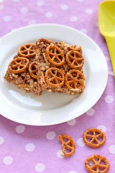 Chocolate & Pretzel Cereal Treats