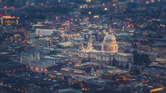 London in Miniature Empire State Building, Veil, Cathedral, Saints, Miniature, War, London, Artwork, Travel