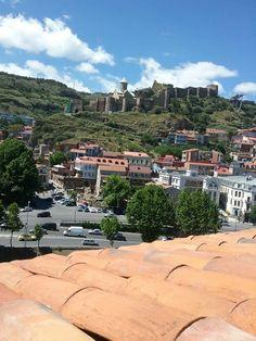 Крепость Нарикале - начало Тбилиси.