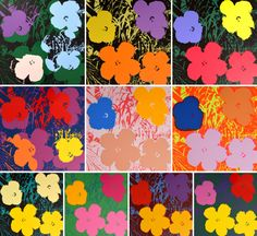 Andy Warhol (after) FLOWERS Portfolio of 10 Screen-Prints.  MARKINGS: markings.  Lot includes Certificate of Authenticity from Sunday B. Morning for each print, issued 5.5.12.