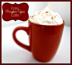 Easy Low Fat Pumpkin Spice Latte Recipe,  diy and save!!