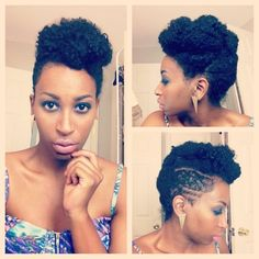 The Pin-Up for Short Hair | 29 Awesome New Ways To Style Your Natural Hair