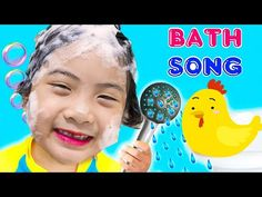 Bath song + More Comptines et chansons amusantes pour enfants - YouTube Go Away Song, Bedtime Songs, Nursery Rhymes Songs, Going To Rain, Ideas Para Fiestas, Kids Songs, Peek A Boos, Pretend Play, Activities For Kids