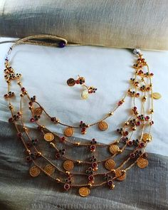 Antique+Layered+Coin+Necklace+From+Vasah