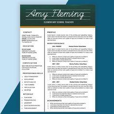 elementary school teaching resume