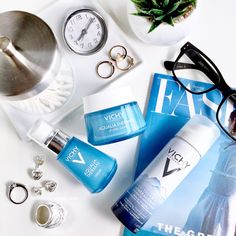Reformulated Vichy Aqualia Thermal is silicone-free and the moisturizers are now thermal water. Leave In, Beauty Make Up, Beauty Care, Good Sunscreen For Face, Best Skincare Products, Sensitive Skin Care, Best Moisturizer, Face Skin Care, Skin Products