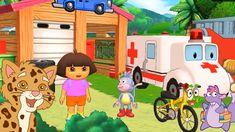 Dora and Friends the Explorer Adventure Cartoon For Kids! Dora's Adventure Ride and Run Nick Jr. Uk
